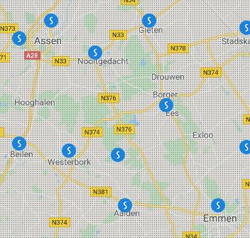 Vestigingen Slim Zonwering Drenthe